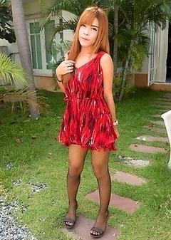 Ladyboy Naomi - GF Dress No Panties Bareback CIM