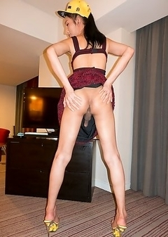 Asian Transsexual Nutty