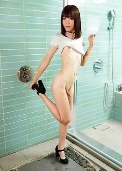 Asian Transsexual Yui Kawai