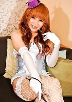 Kaede, a hot newhalf escort based in Osaka