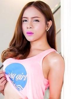 Asian Transsexual Plam