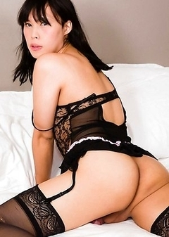 Asian Transsexual Mio