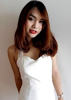 22 year old Thai ladyboy Ning gets made up for her date and a facial from her tourist friend
