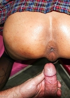 Natty Big Cock Gape Cum and Creampie