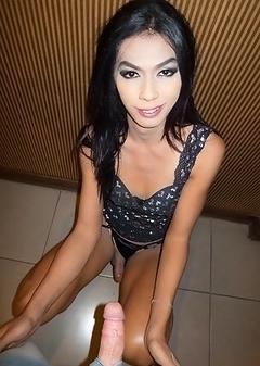 Ladyboy Ritar - Fetish Panties Bareback Facial